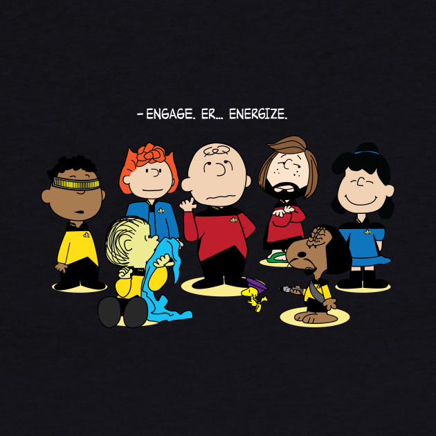 Engage. Er... Energize. (for dark shirts)