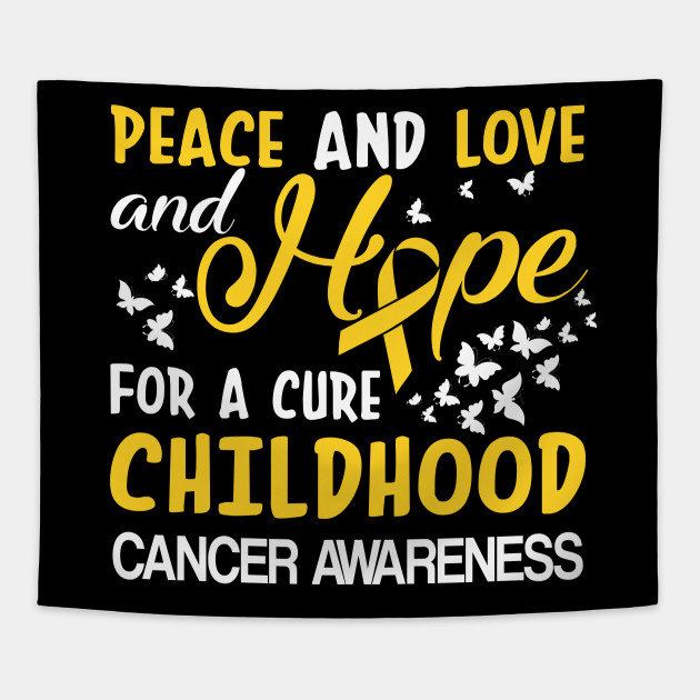 6f614eef683 Hope Cure For Childhood Cancer Awareness