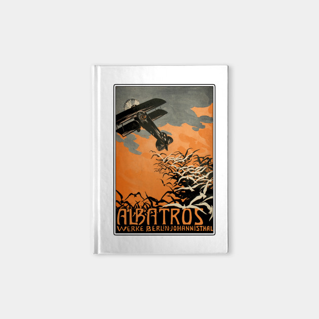Albatros WWI German Aircraft Maker Advertising Poster