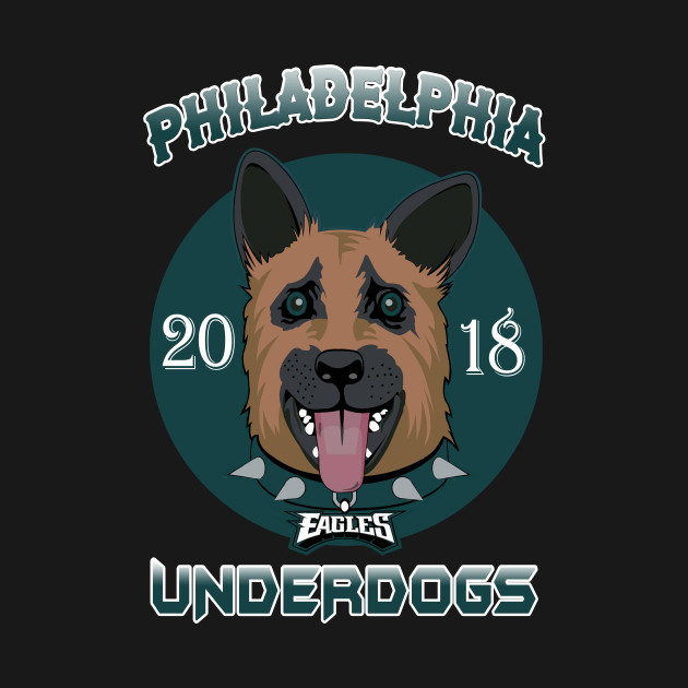 promo code 828f5 23fe8 Philadelphia Eagles Underdogs 2018