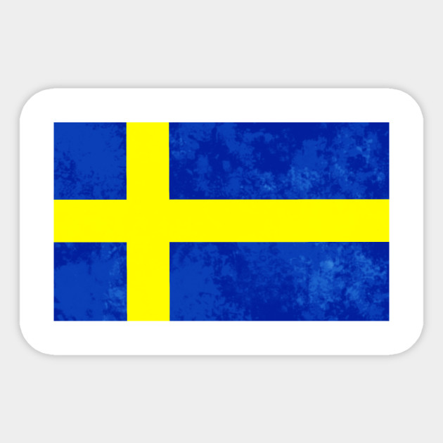 Sweden flag sticker