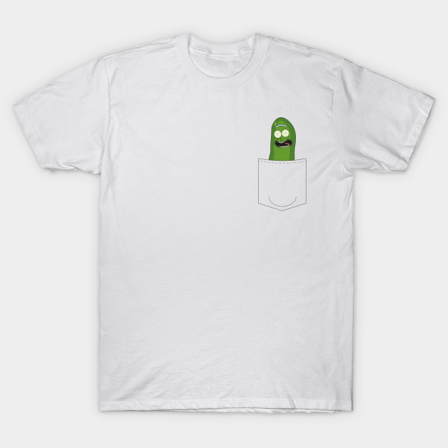 Pickle Rick In My Pocket - Rick & Morty Tee T-Shirt-TOZ
