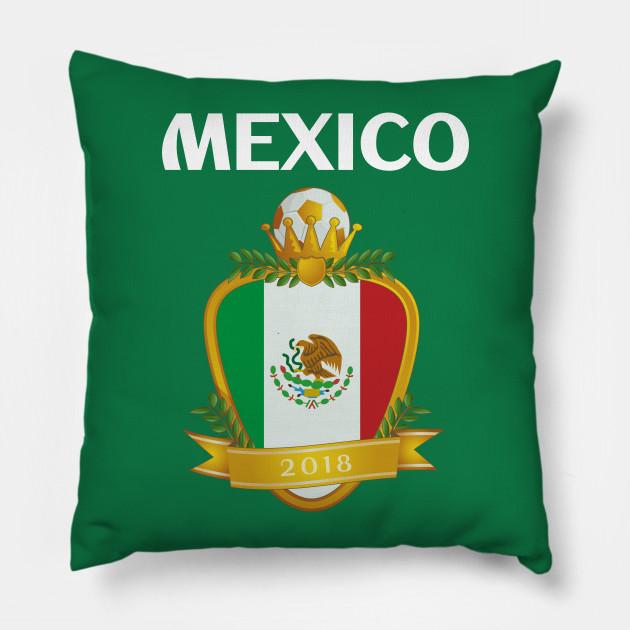 34b74f6203e Team Mexico Futbol El Tri - Mexico Soccer - Pillow   TeePublic
