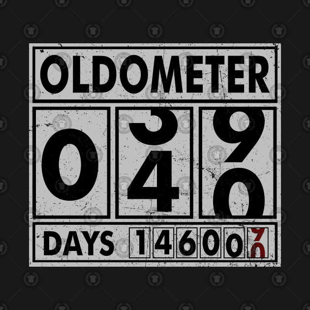 9825098a OLDOMETER 40 Years Old Made In 1978 40th Birthday Kids Long Sleeve T-Shirt