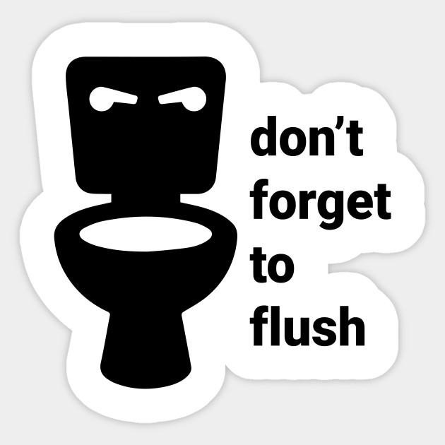 Image result for to flush