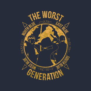 One Piece - The Worst Generation