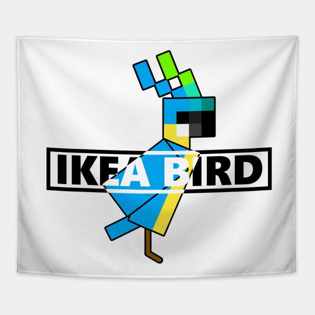 Pewdiepie Minecraft Ikea Bird Parrot
