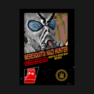 Weresquito: Nazi Hunter retro video game shirt t-shirts