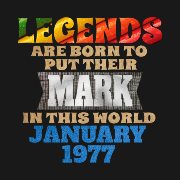 legends-legends are born to put their mark in this world