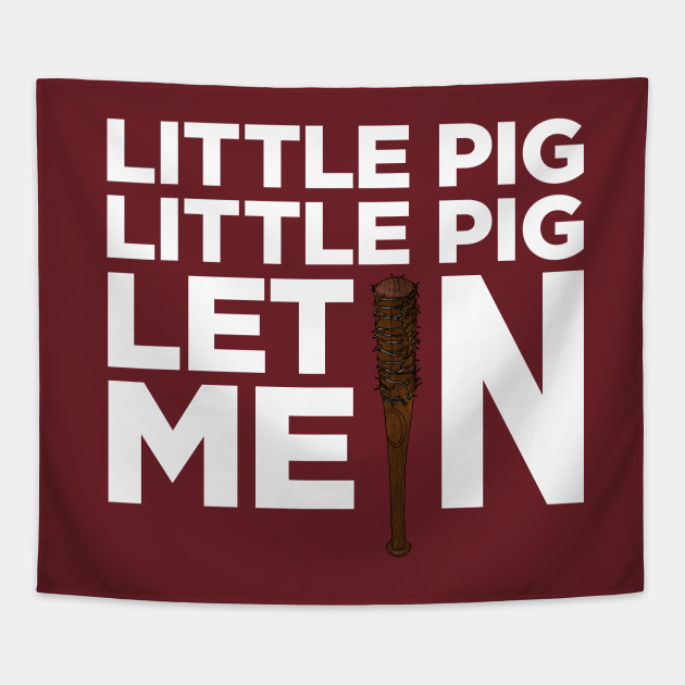 little pig little pig let me in