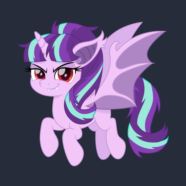 Starlight Glimmer bat pony