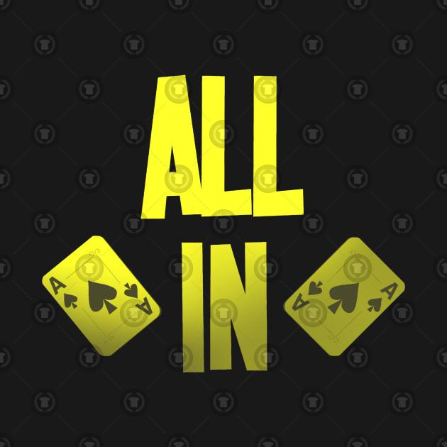 8bfb04acb Poker ALL IN Karten Pik Texas Holdem - Poker - Kids T-Shirt | TeePublic