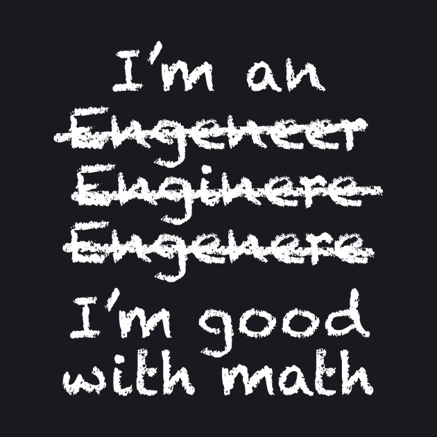 Good with math