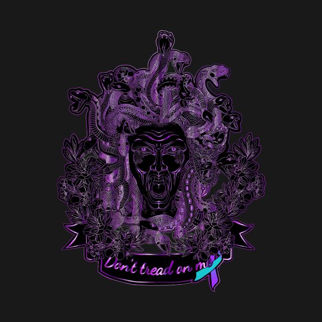 Medusa the Protector (Domestic Violence/Sexual Violence awareness)