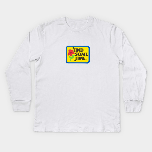 b12536efe887e6 Find Some Time - Golf Wang - Kids Long Sleeve T-Shirt