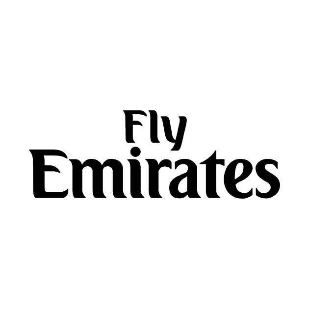 fly emirates logo air ways fly emirates fly plane t