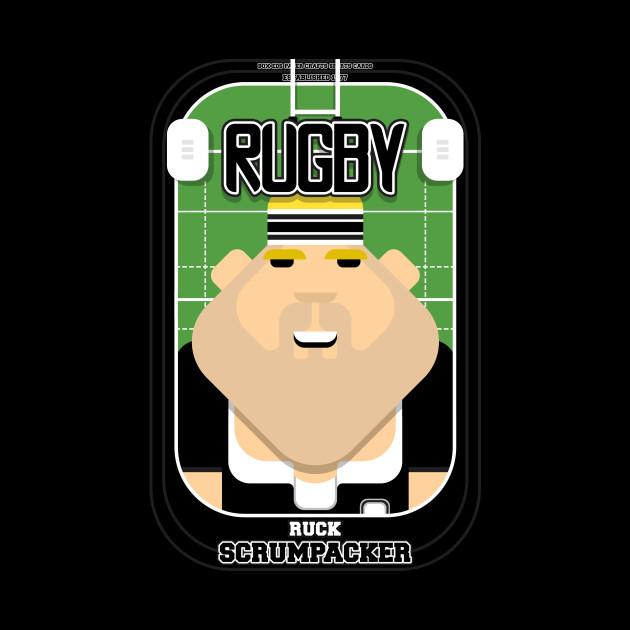 Rugby Black - Ruck Scrumpacker - Sven version