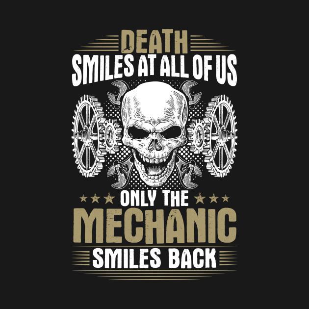 Mechanic Mechanics Smiles Gift Present