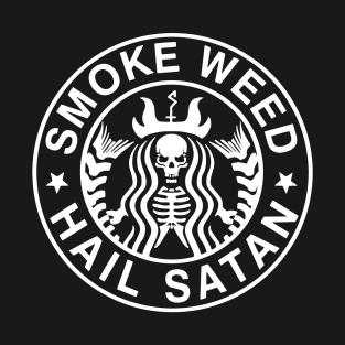 Satan Weed t-shirts