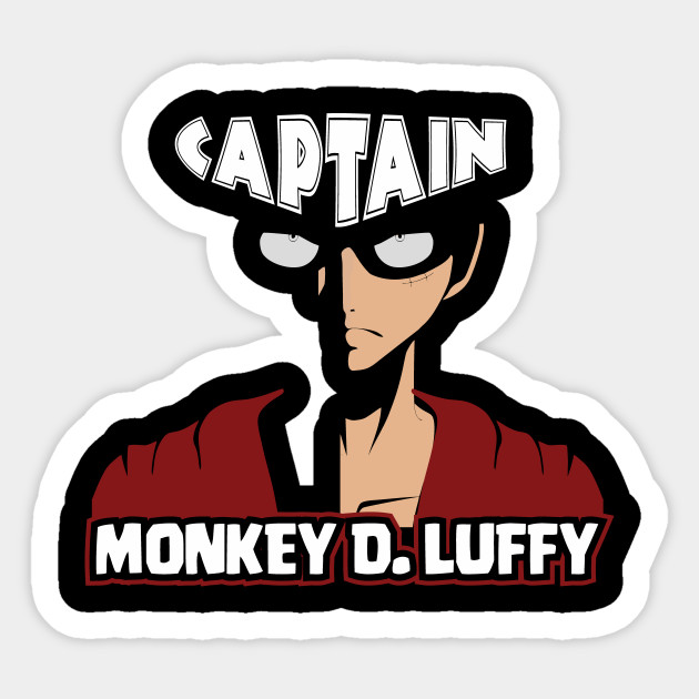 one piece luffy angry one piece sticker teepublic