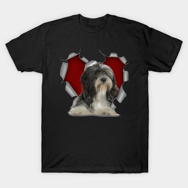 I Love Heart Tibetan Terriers Sweatshirt