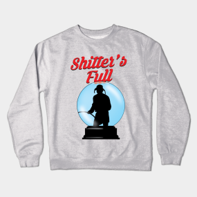 uncle eddie snow globe crewneck sweatshirt