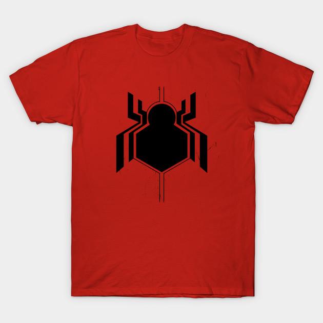 3fc296dd Civil War Spider-Man (LARGE LOGO) - Spider Man - T-Shirt | TeePublic