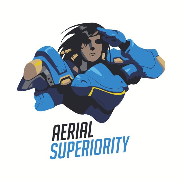 "Overwatch Pharah ""Aerial Superiority"" Tee"