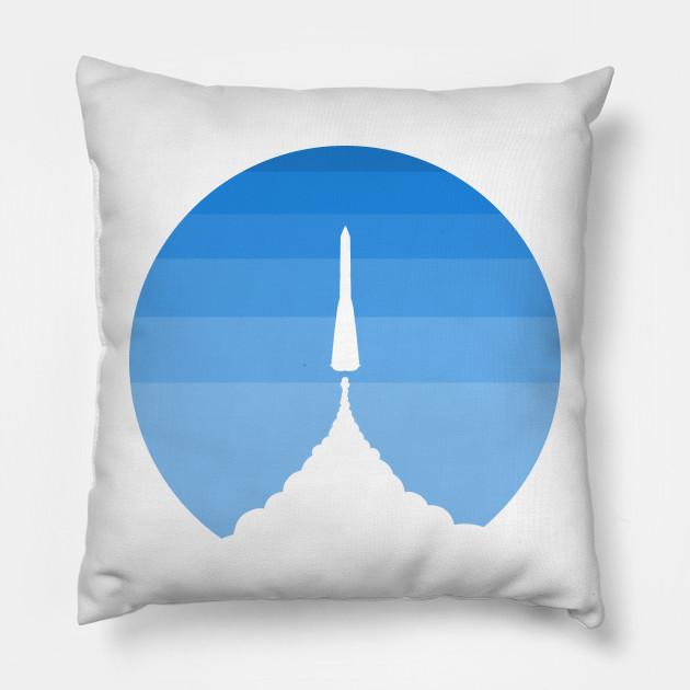 Blue sky rocket