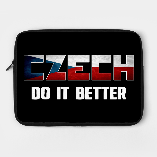 Czech do it better. Czech Republic