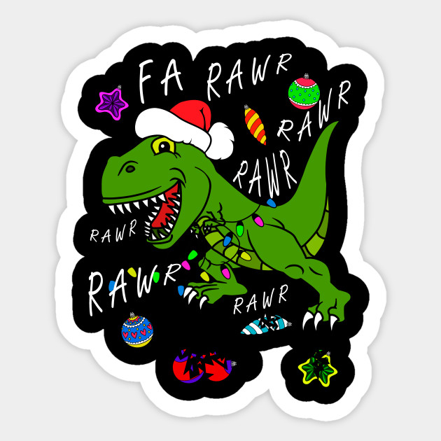 T Rex Christmas.T Rex Christmas Dinosaur Dinosaur Christmas