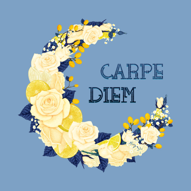 Full Bloom | Blue Carpe Diem
