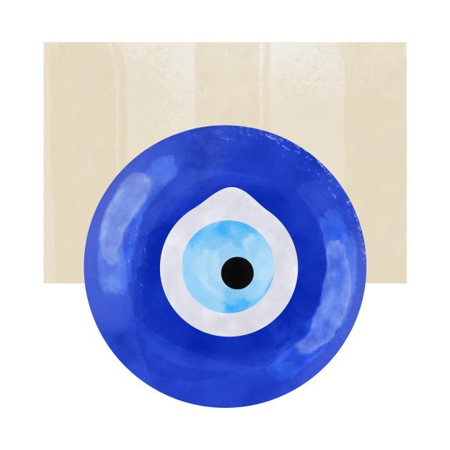 Evil Eye Pop Art
