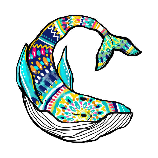 Colorful Whale