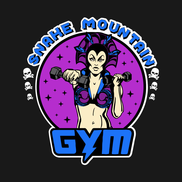 Snake Mountain Gym Evilyn T-Shirt
