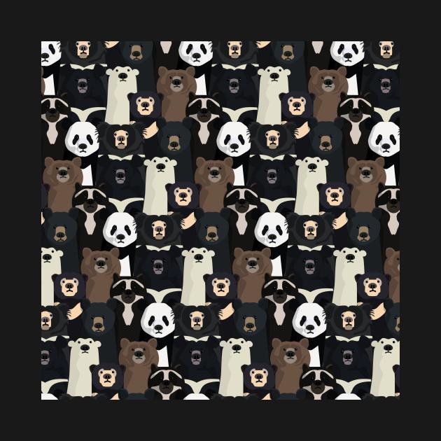 Bear species pattern