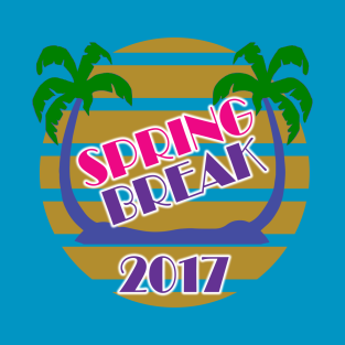 Spring Break 2017 Official T-Shirt by Basement Mastermind t-shirts