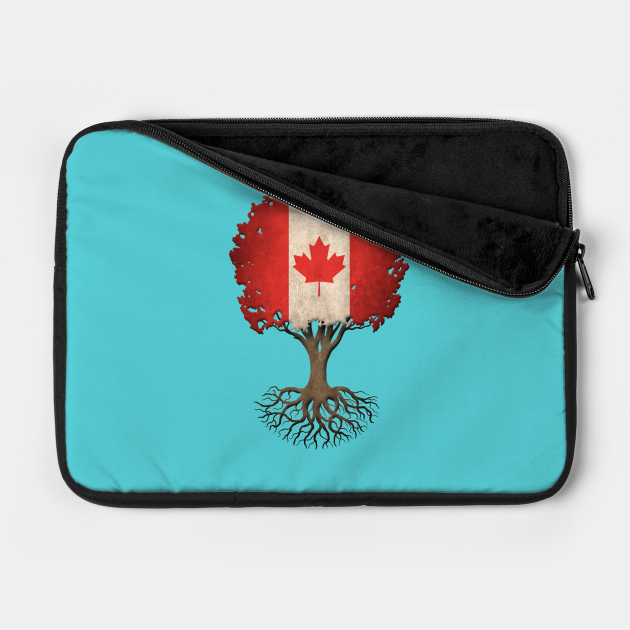 Tree of Life with Canadian Flag