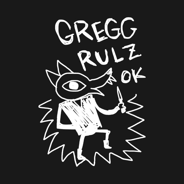 Night In The Woods - Gregg Rulz Ok - White Clean