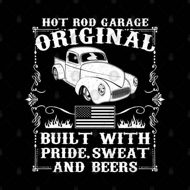 Vintage Hot Rod Pickup