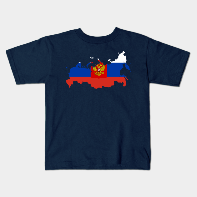 Russia Outline Kids T-Shirt
