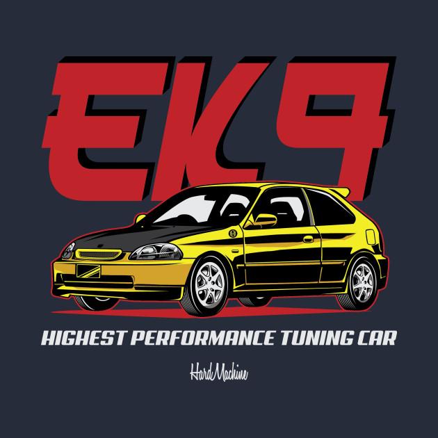 JDM EK9 Yellow Edition