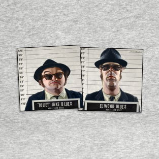 Blues Brothers Mugshots t-shirts