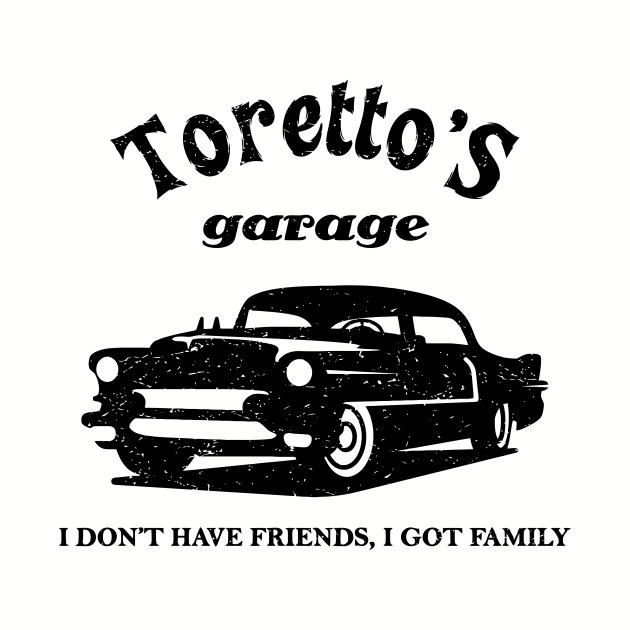 Toretto's Garage. Fast and Furious / Gas Monkey - inspired