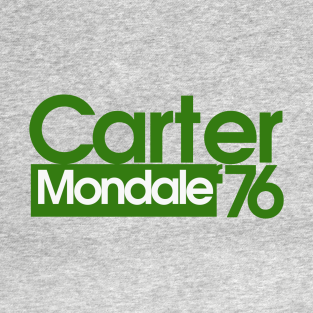Jimmy Carter Mondale 76 Election t-shirts
