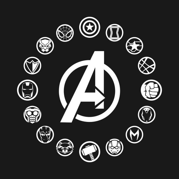 Avengers Infinity War Hero Icons Infinity War Icon Tank Top
