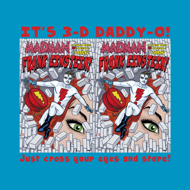 MADMAN 3D Special Cover in 3D!