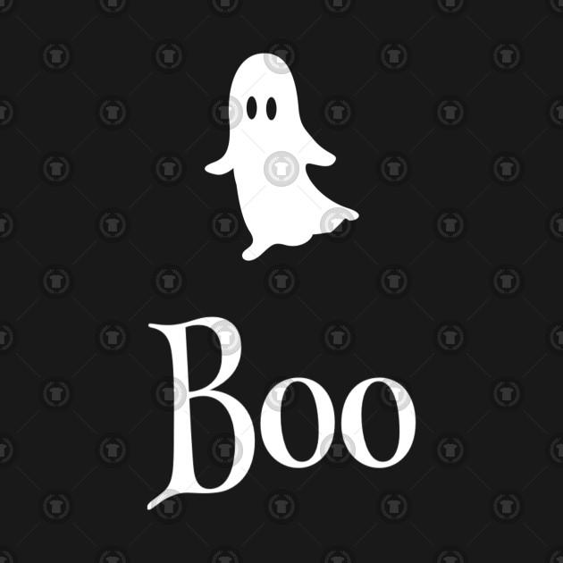 Boo - Friendly Halloween design