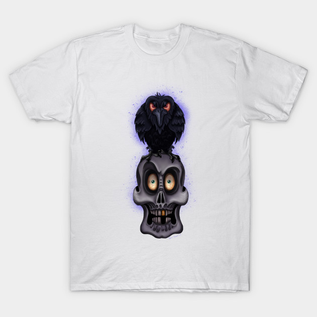 """The Raven"" By Topher Adam 2017 T-Shirt-TOZ"