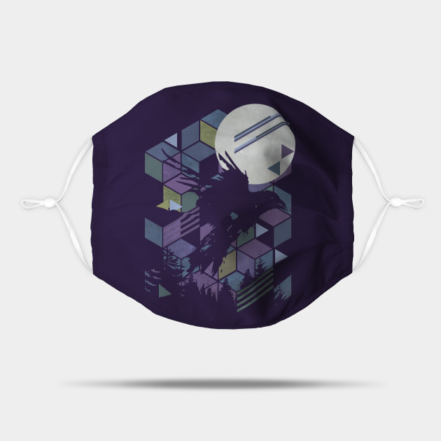 Geometric Raven